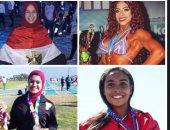 حصاد 2018 .. أربعة بنات حققن الإنجاز فى الرياضة المصرية