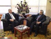 رئيس التنمية الصناعية يبحث سبل التعاون مع الهيئة السعودية للمدن الصناعية