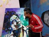 قصة عاصم جمال مع البورتريه.. طلب منير التعاون معه وأهدى لوحاته لأمير كرارة