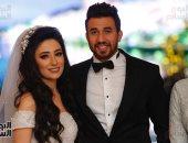 وزير الشباب ونجوم الرياضة فى حفل زفاف تريزيجيه