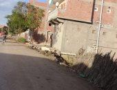 أهالى قرية السملاوية فى الغربية يتضررون من عدم توصيل الصرف الصحى