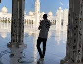 """كورتوا عن مسجد """"الشيخ زايد"""": من أجمل الأماكن التى قمت بزيارتها"""