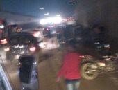 مصرع شاب وإصابة آخر فى انقلاب دراجتين بخاريتين شرق النيل ببنى سويف