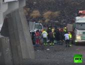 شاهد.. لقطات من موقع حادث مصرع 3 سياح بريطانيين إثر حادث بأيسلندا