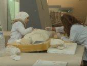 فيديو.. إعادة افتتاح المتحف الوطنى بدمشق واستعادة قطع أثرية قيمة