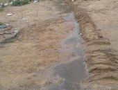 قارئ يشكو وصول مياه الصرف الصحى إلى منطقة مقابر بمرسى مطروح