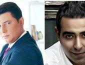 محمد عدوية ومحمد عبد المنعم فى حفل مشترك ليلة رأس السنة