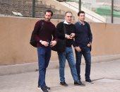 لاسارتى وسباستيان وإليخاندرو يغادرون القاهرة لقضاء الإجازة السنوية