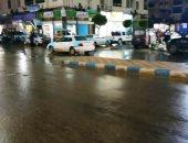 صور.. سقوط أمطار خفيفة على مطروح والساحل الشمالى
