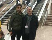 بعدما طلبه الأهلى رسميا.. حسين الشحات فى مطار القاهرة بكامل حقائبه.. صور