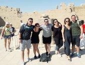 السياح الإيطاليون يبدأون الرحلات إلى مسار العائلة المقدسة