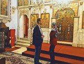 شاهد.. بشار الأسد وزوجته يشاركان السوريين احتفالات عيد الميلاد فى الكنيسة