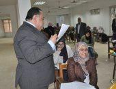 رئيس جامعة حلوان: 13 طالبًا مسجونا يؤدون امتحانات التيرم الأول