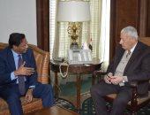"""ننشر تفاصيل لقاء رئيس """"الأعلى للإعلام"""" بسفير موريتانيا بالقاهرة"""