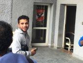 محمد محمود يظهر فى الأهلى بعد العودة من ألمانيا