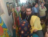 افتتاح معرض وحفل أنشطة الصفوف الأولى ورياض الأطفال بإدارة شرم الشيخ