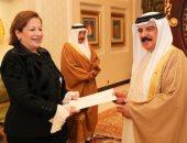 """الرئيس السيسى يدعو ملك البحرين لحضور حفل افتتاح مسجد """"الفتاح العليم"""""""