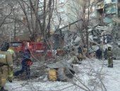 ارتفاع حصيلة ضحايا انهيار مبنى سكنى فى ماجنيتوجورسك الروسية لـ16 قتيلا