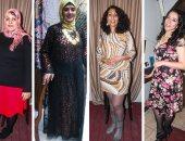"""فستان زمان والشارع كان أمان.. """"هادية"""" تدعو لمحاربة التحرش الجنسى بالأزياء"""