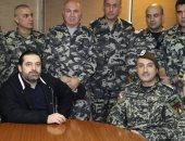 صور.. سعد الحريرى يتفقد الإجراءات الأمنية فى وزارة الدفاع وثكنة الحلو