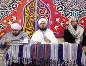 """صور.. """"الجفرى"""" ومشايخ """"الصوفية"""" يُحيون ذكرى الإمام بساحة الحسين"""