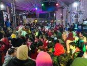 صور.. اقبال كثيف من أعضاء صيد المحلة على احتفالات الكريسماس