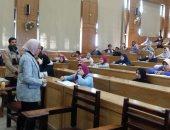 انتظام إجراء امتحانات التيرم الأول بكليات جامعة دمنهور