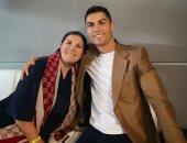 شاهد.. كيف هنأ كريستيانو رونالدو أمه باحتفالات رأس السنة؟