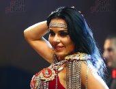 """صور.. الراقصة الأوكرانية """"آلا كوشنير"""" تحيى حفل رأس السنة بأحد الفنادق"""
