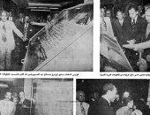 ننشر صورة نادرة للسادات وقت افتتاح دار الكتب والوثائق القومية