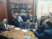 """سامح عاشور"""" لمحامى الإسكندرية: قيمة المحامى تضاعفت عقب قرارات التنقية"""