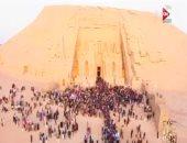 """""""كل يوم"""" يعرض تقريرًا يظهر الرواج السياحى الذى تشهده البلاد"""