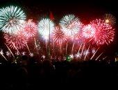 اول دقيقة فى ٢٠١٩ .. صور لاحتفالات المصريين بأول دقائق فى العام الجديد