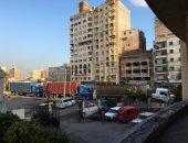 مرضى بالإسكندرية يشكون تكدس سيارات النقل أمام العيادة الخارجية بالمكس