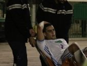 إصابة محمد الشامى بتمزق فى عضلات البطن بمباراة الإسماعيلى والمقاولون