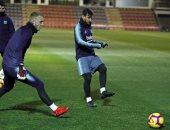 ميسي يشارك فى تدريبات برشلونة للمرة الأولى فى 2019.. صور