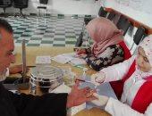 تواصل إقبال أهالى شمال سيناء على مراكز حملة 100 مليون صحة