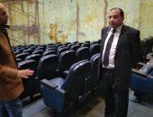 رئيس جامعة بنى سويف: خدمات مركز المؤتمرات مميكنة وحجز المواعيد أونلاين