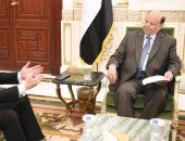 الرئيس اليمنى عبد ربه منصور فى حوار مع جمال الكشكى: لن نفرط فى شبر من اليمن