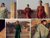 الموضة الخليجية.. مصممة أزياء عمانية تستوحى تصميماتها من موقع أثرى.. صور