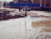 قارئ يشكو انقطاع المياه بمنطقة الصداقه باسوان بسبب كسر ماسورة
