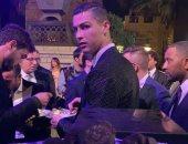 جوائز جلوب سوكر 2018.. وصول كريستيانو رونالدو إلى مقر الحفل
