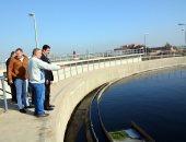 محافظ القليوبية يوجه بسرعة الانتهاء من أعمال انشاء محطة معالجة الصرف الصحي بقرية شبرا شهاب