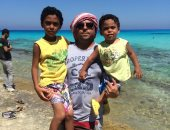 """قارئ يشارك بمبادرة """"جمال مصر"""" بصور مع عائلته وأصدقائه فى الأماكن السياحية"""