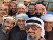لحظات خاصة لقادة الإمارات الشباب فى السفارى وركوب الخيل ..صور