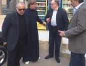 صور.. أبو ريدة وكردى ومجاهد فى زيارة لشقيق ثروت سويلم بالشرقية