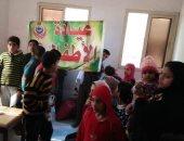 توقيع الكشف الطبى على 2099 مواطن بقافلة مجانية بقرية الطيبة بالشرقية