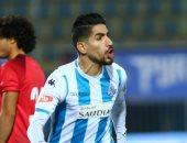 محمد فاروق يتقدم لبيراميدز بالهدف الأول أمام النجوم بعد 3 دقائق