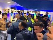 أوووه بيراميدز.. شاهد احتفال حسام حسن مع لاعبيه بعد الفوز على الأهلى