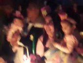 """صور.. مى كساب تحتفل بعيد ميلاد ابنتها على ألحان """"العب يلا"""""""